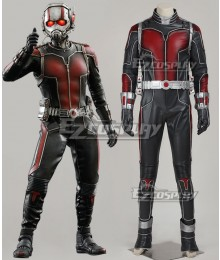 Marvel Ant Man Ant-Man Scott Lang Cosplay Costume Deluxe Version
