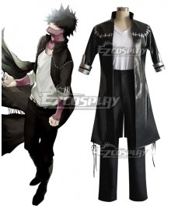 My Hero Academia Boku no Hero Akademia Dabi Cosplay Costume - PU Leather, Spandex