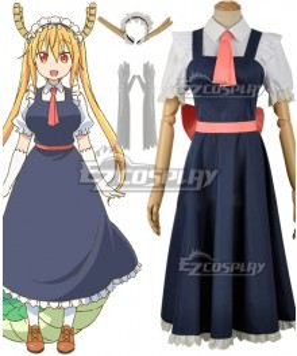 Miss Kobayashi's Dragon Maid Tohru Cosplay Costume - B Edition