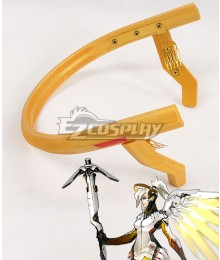 Overwatch OW Mercy Angela Ziegler Headwear Cosplay Accessory Prop