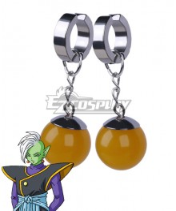 Dragon Ball Super Zamasu One Pair Ear Clips Cosplay Accessory Prop