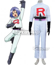 Pokémon Pokemon Pocket Monster Team Rocket James Kojiro Cosplay Costume