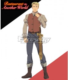 Restaurant to Another World Isekai Shokudou einrich Seeleman Cosplay Costume