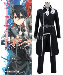 Sword Art Online SAO  Alicization Kirito Kirigaya Kazuto Cosplay Costume