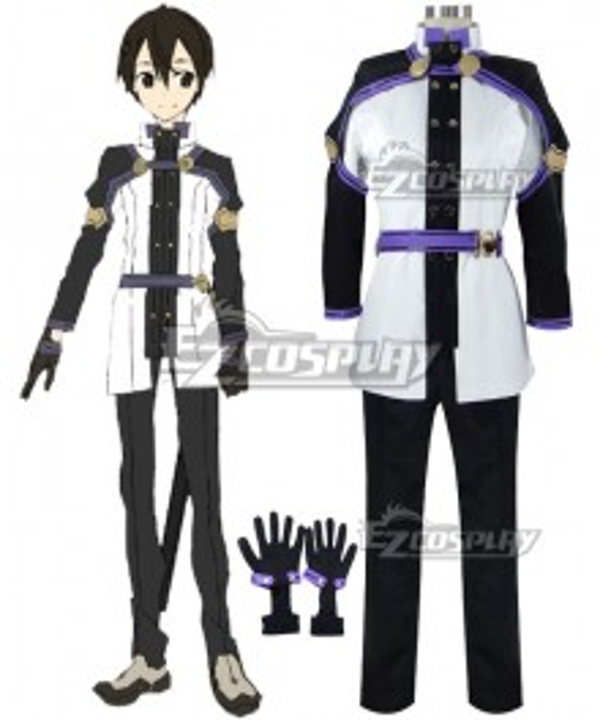 Sword Art Online Ordinal Scale Kirigaya Kazuto Kirito Movie New Cosplay Costume