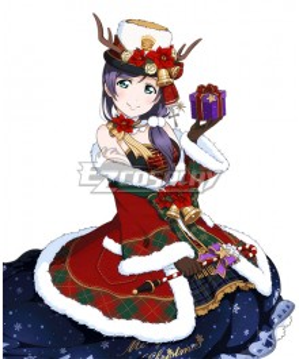 Love Live Christmas Ver. 2 Nozomi Tojo Cosplay Costume