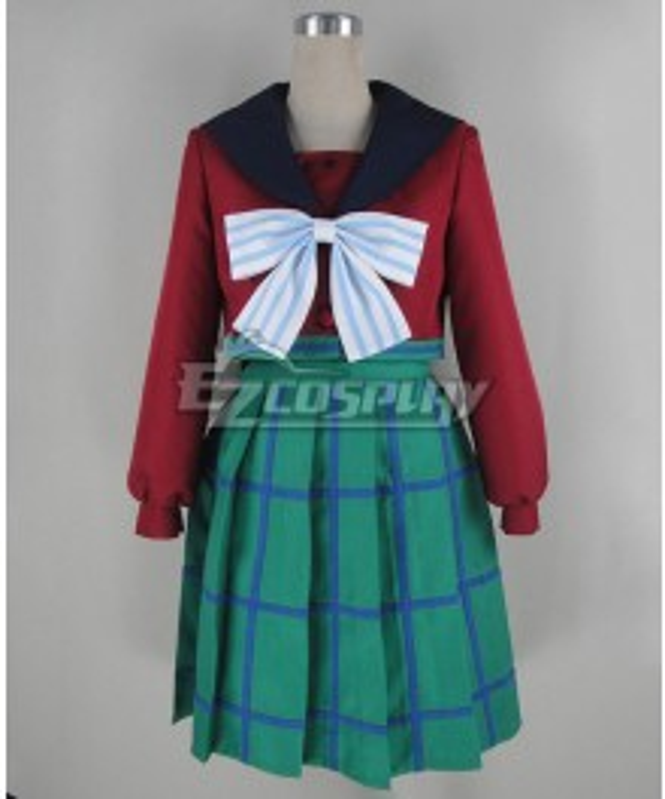 Sailor Moon S Hotaru Tomoe Sailor Saturn Infinity Academy Uniform Cosplay Costume