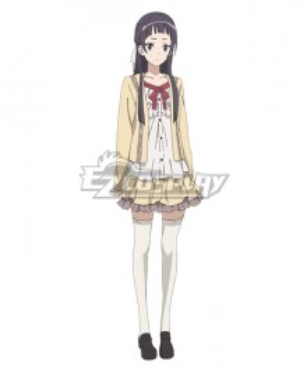 Sakura Quest Ririko Oribe Cosplay Costume