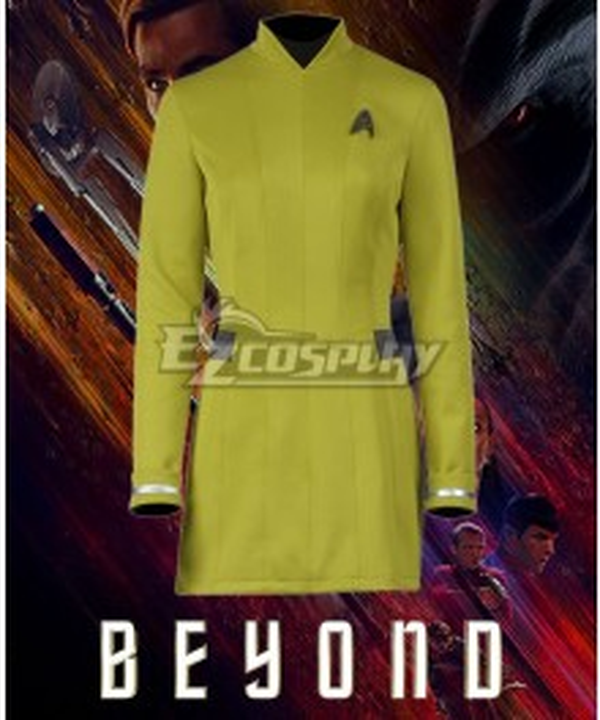 Star Trek Beyond Yellow Dress Cosplay Costume