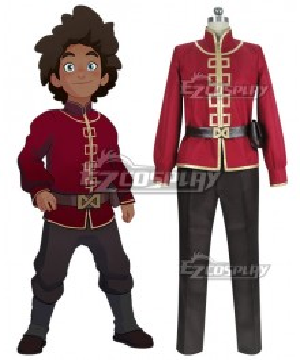 The Dragon Prince Prince Ezran Cosplay Costume