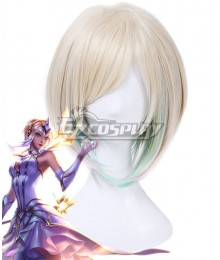 League of Legends LOL Elementalist Lux Multicolor Cosplay Wig