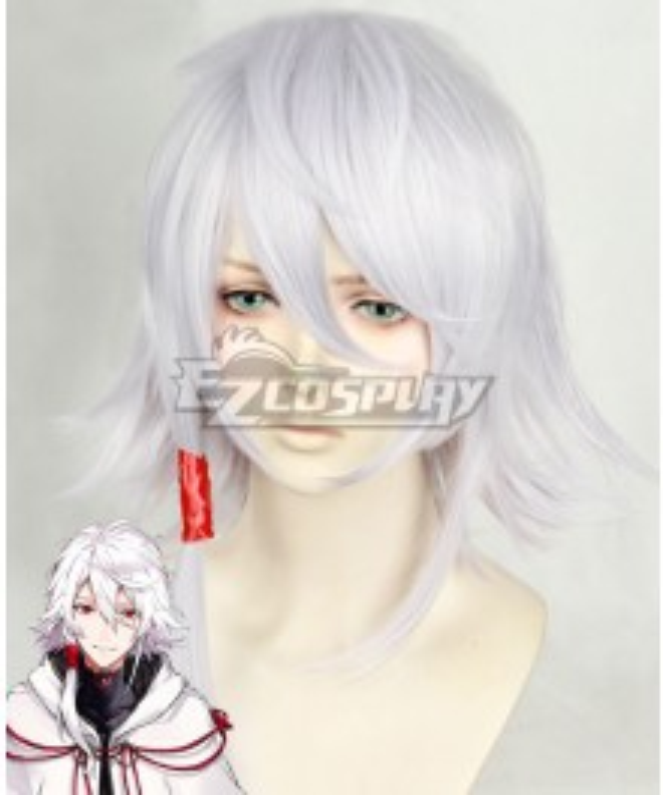 Seikaisuru Kado Kado: The Right Answer Yaha-kui zaShunina White Cosplay Wig - Only Wig