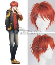 Mystic Messenger 707 Orange Cosplay Wig - A Edition