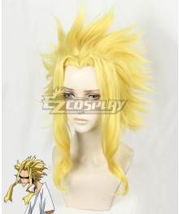 My Hero Academia Boku no Hero Akademia All Might Yellow Cosplay Wig