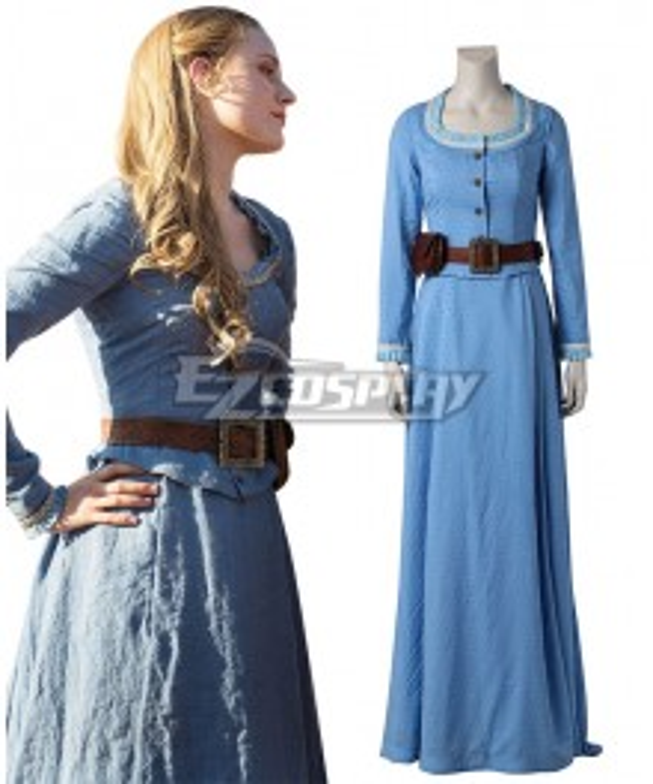 Westworld Dolores Abernathy Dress Cosplay Costume