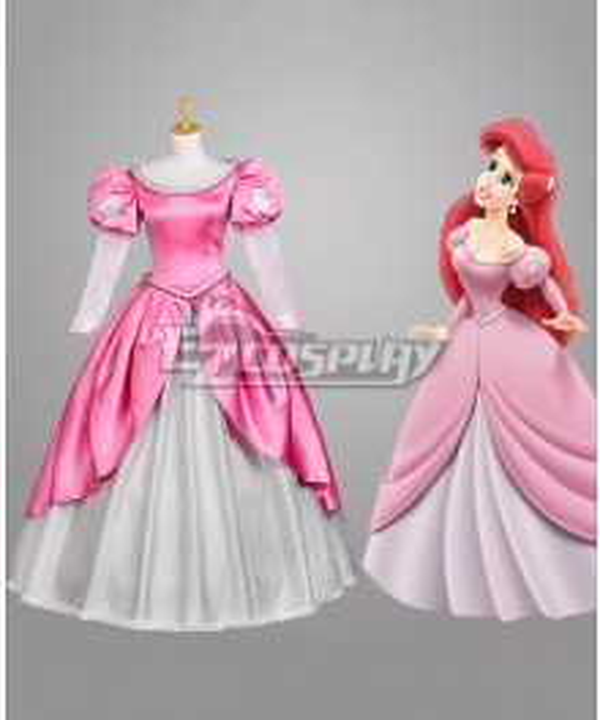 Disney Beauty and the Beast Belle Mermaid Cosplay Costume