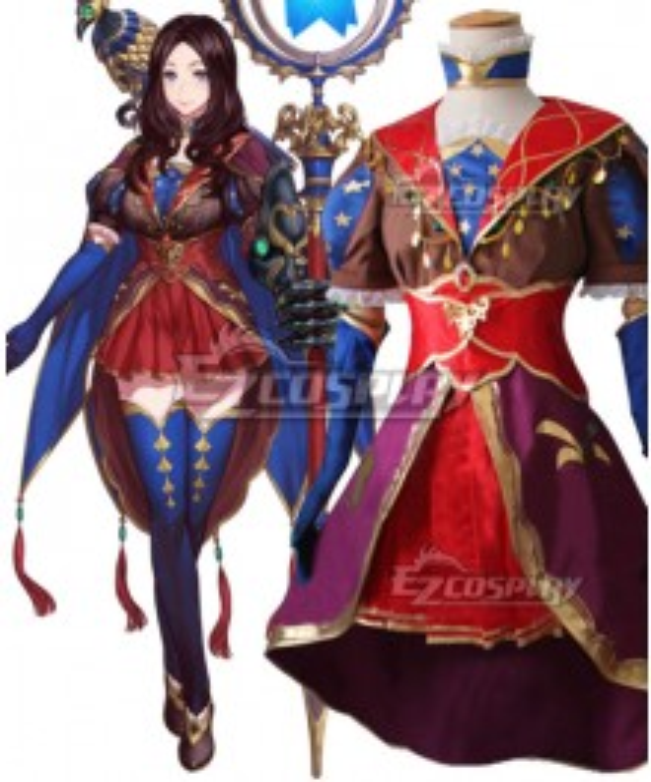 Fate Grand Order Caster Leonardo Da Vinci Cosplay Costume