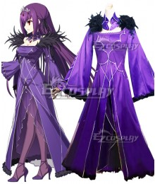 Fate Grand Order Caster Scathach Cosplay Costume