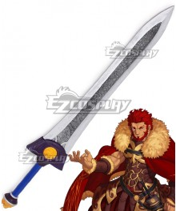 Fate Zero Iskandar Sword Cosplay Weapon Prop