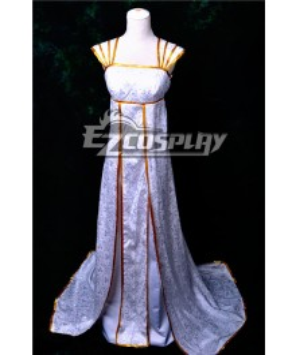 FateZero Long Dress Cosplay Anime Costume-Y504