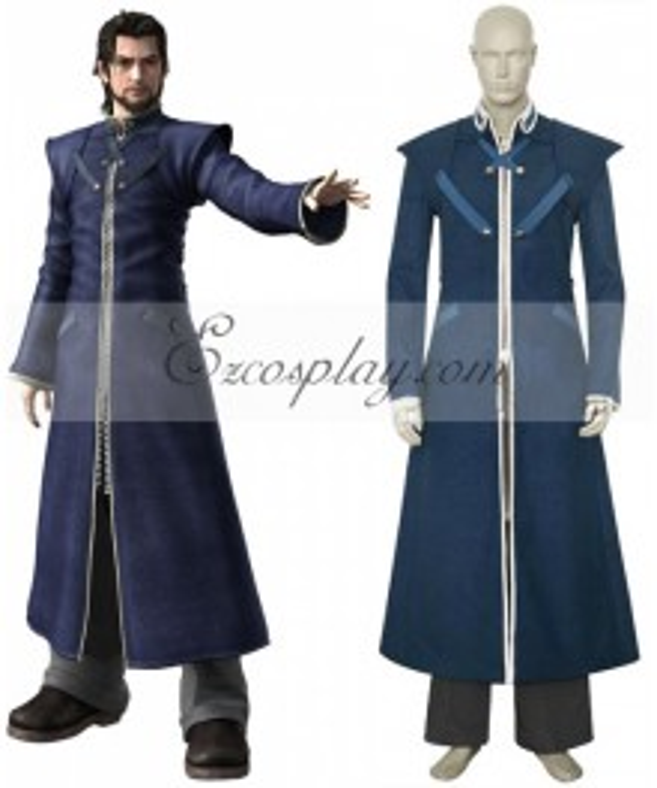 Final Fantasy VII 7 Reeve Tuesti Cosplay Costume