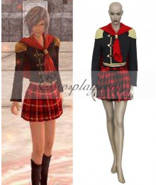 Final Fantasy XIII Agito Girl Uniform Cosplay Costume
