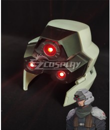 Final Fantasy VII Remake FF7 Shinra Security Officer Helmet Cosplay Accessory Prop