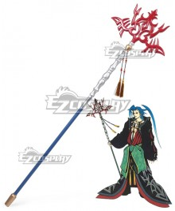 Final Fantasy X FF10 Seymour Guado  Cosplay Weapon Prop