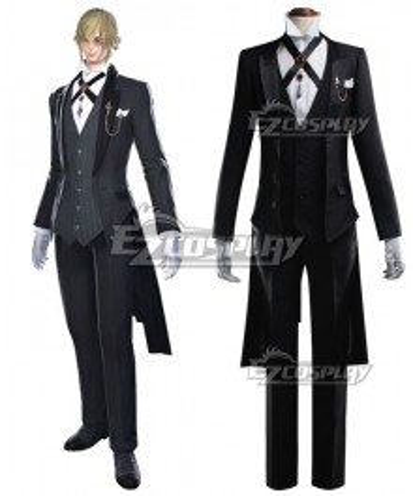 Final Fantasy XIV Butler Of Eorzea Cosplay Costume