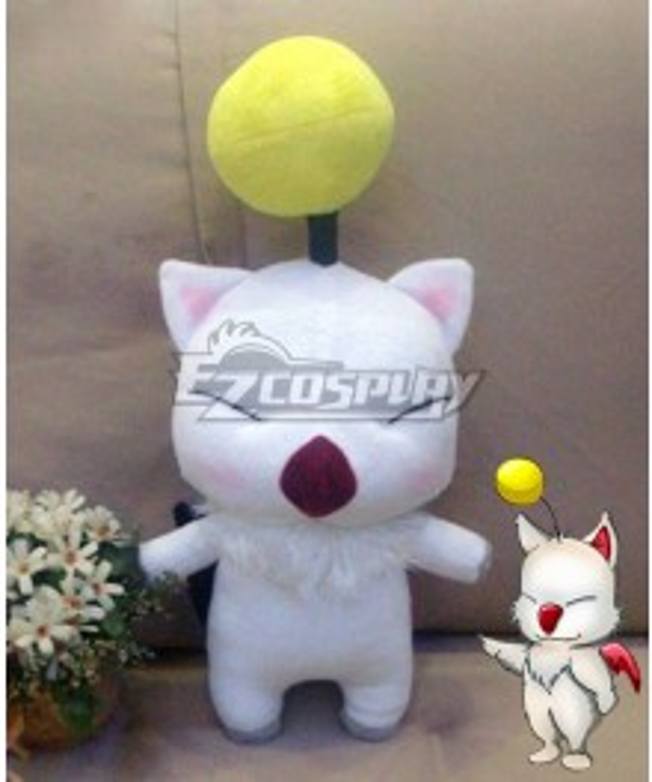 Final Fantasy XIV FF14 Moogle Doll Cosplay Accessory Prop