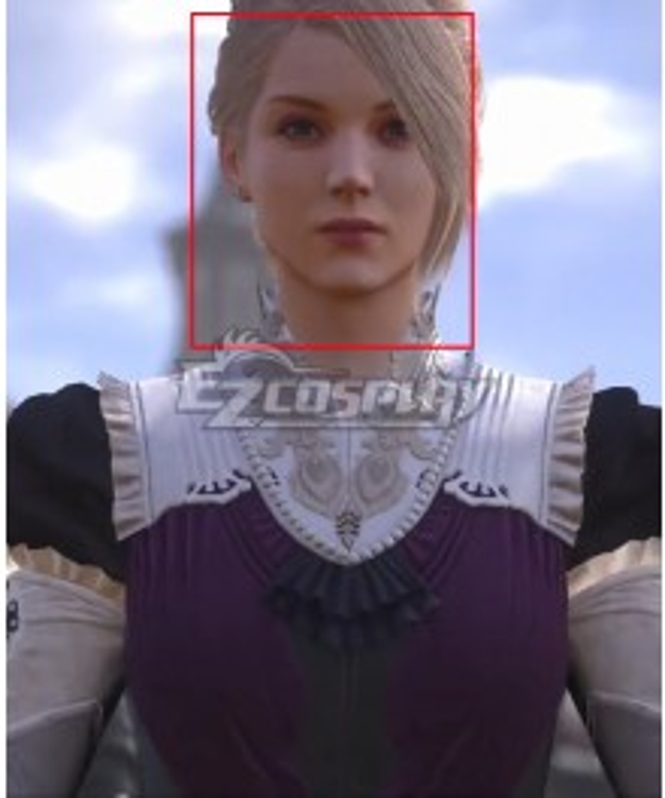 Final Fantasy XVI FF16 Mom Golden Cosplay Wig