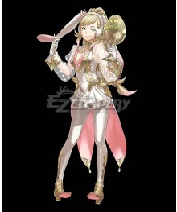 Fire Emblem Heroes Spring Sharena Cosplay Costume