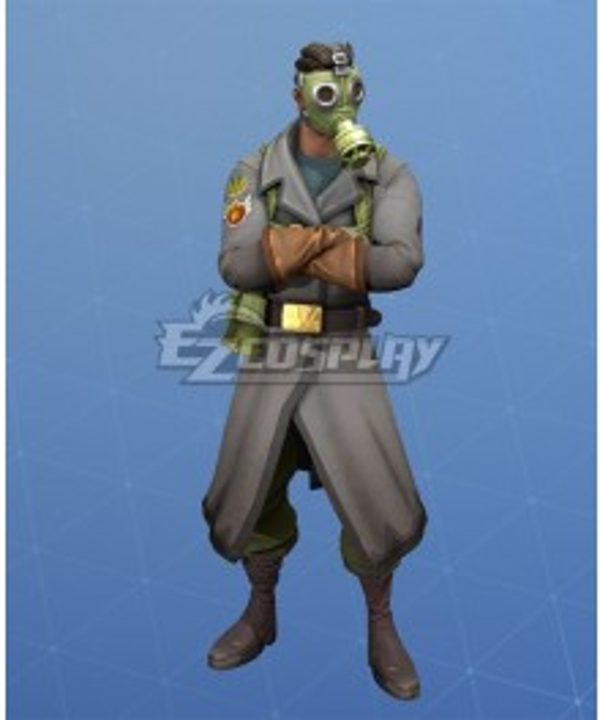 Fortnite Battle Royale Sky Stalker Halloween Cosplay Costume