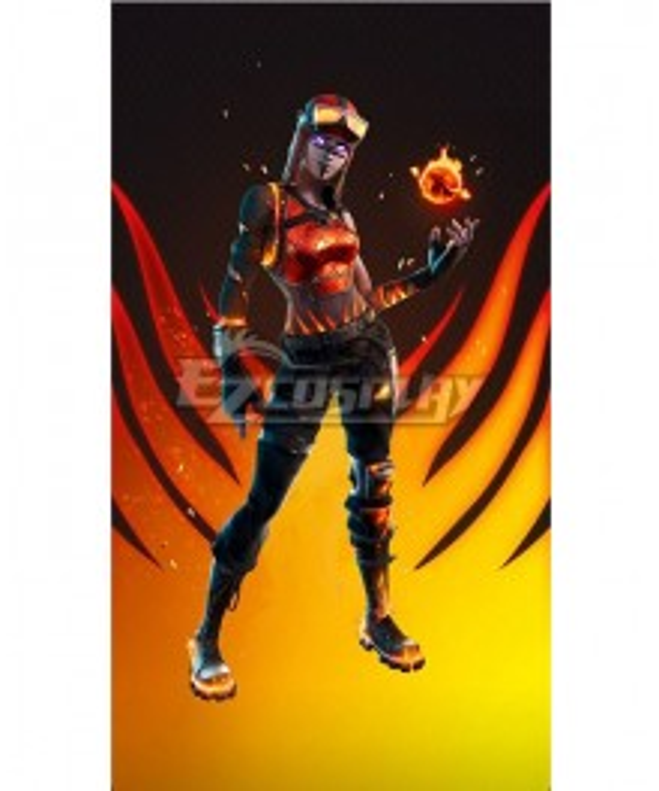 Fortnite Blaze Cosplay Costume