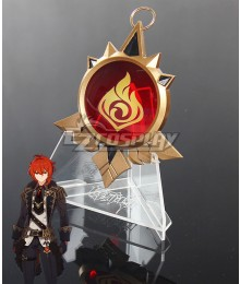 Genshin Impact Diluc's Vision Cosplay Accessory Prop
