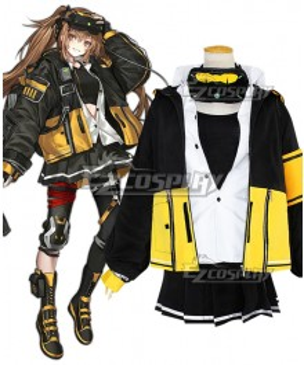 Girls' Frontline HK UMP Mod Cosplay Costume