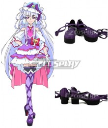 Hugtto! PreCure Ruru Amour Cure Amour Purple Cosplay Shoes