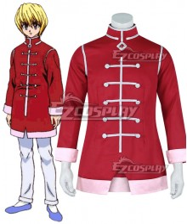 Hunter X Hunter Kurapika Red Coat Cosplay Costume Cosplay Costume