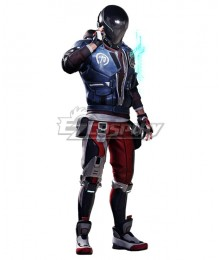 Hyper Scape Ace Halloween Cosplay Costume