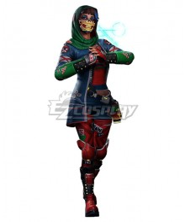 Hyper Scape Javi Halloween Cosplay Costume