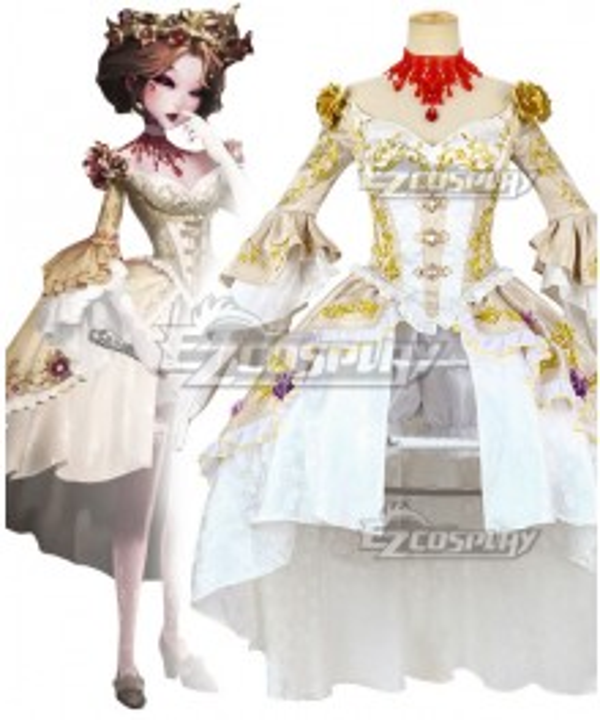 Identity V Bloody Queen Mary Bloodbath Halloween Cosplay Costume