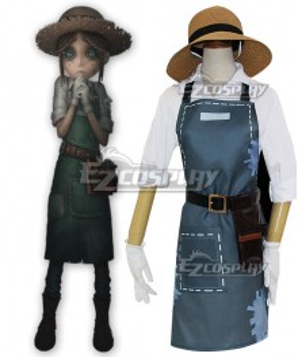 Identity V Gardener Emma Woods Halloween Cosplay Costume