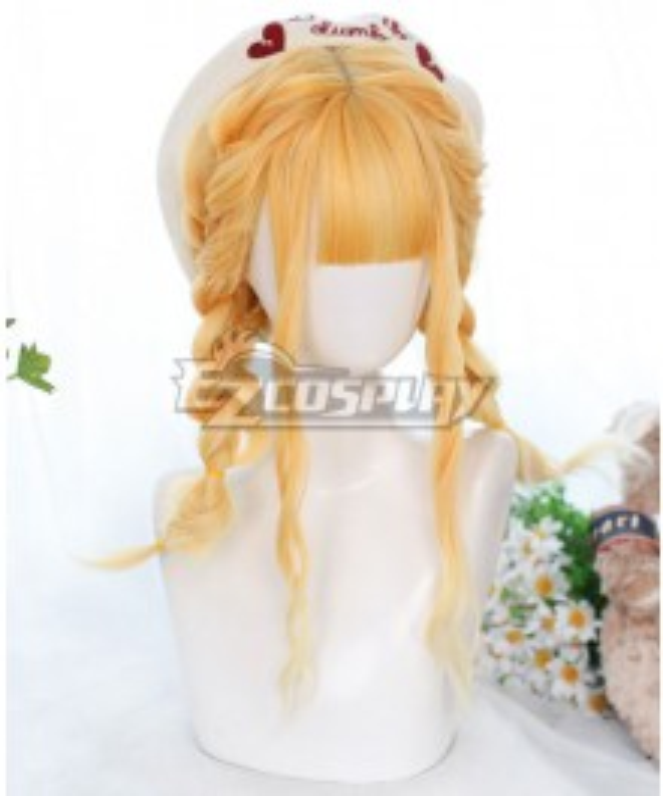 Japan Harajuku Lolita Series Sunflower Golden Cosplay Wig