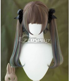 Japan Harajuku Lolita Series Little Witch Brown Green Cosplay Wig - Not Included Headwear