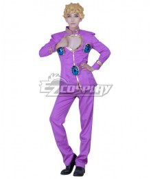 JoJo's Bizarre Adventure: Vento Aureo Golden Wind Anime Edition Giorno Giovanna Cosplay Costume