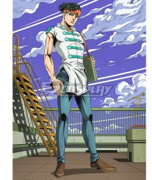 Jojo'S Bizarre Adventure Thus Spoke Kishibe Rohan Kishibe Rohan Cosplay Costume