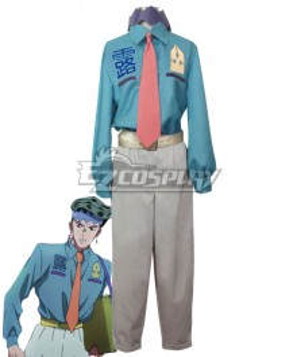 Jojo'S Bizarre Adventure : Unbreakble Diamond Rohan Kishibe Sketch Cosplay Costume