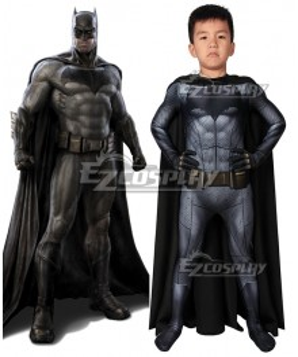 Kids Batman vs Superman: Dawn of Justice Batman Bruce Wayne Zentai Jumpsuit Cosplay Costume