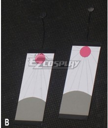 Demon Slayer: Kimetsu No Yaiba Kamado Tanjirou Earring Cosplay Accessory Prop - B Edition