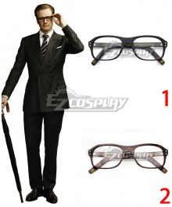 Kingsman Harry Hart Glasses Cosplay Accessory Prop